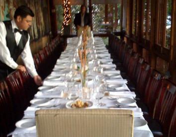 Private dining Italian Restaurant