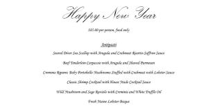 Best Italian Restaurant for celebrating New Year's Eve in Houston is Sorrento with a great menu, stellar service and incredible Italian cuisine.