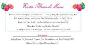 Best Italian Restaurant for Easter lunch in Houston is Sorrento with a great menu, stellar service and incredible Italian cuisine.