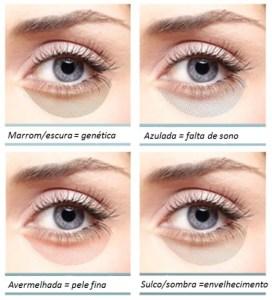 tipos de olheira