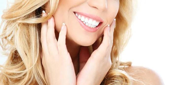 cuidar das lentes de contato dentais