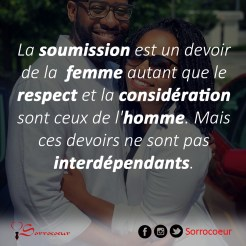 soumission VS respect copie