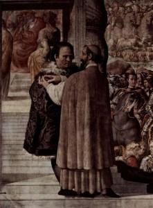 Image: Painting by Francesco Salviati. Public domain.