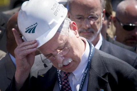 Amtrak President Joe Boardman, in Philadelphia