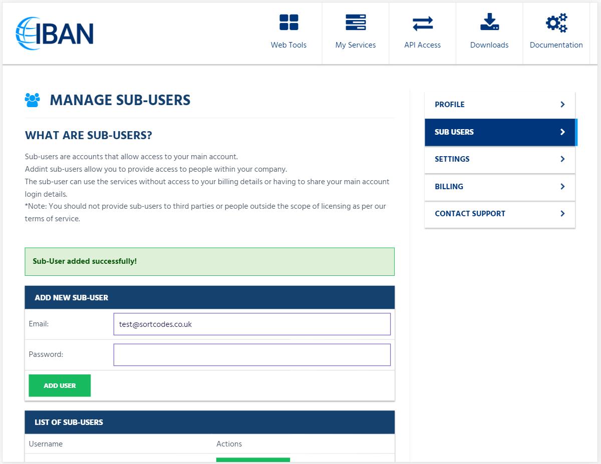 SortWare: Sort Code Checker & UK Bank Account Validation API