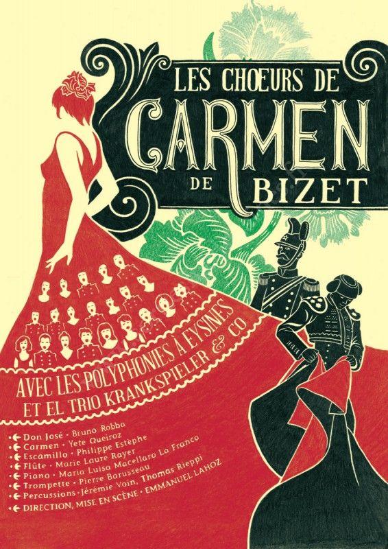 Se divertir dans le Mdoc  Agenda  Les Choeurs de Carmen de Bizet