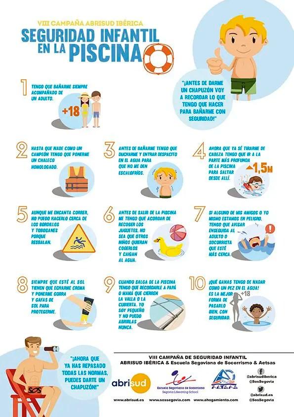 10 MEDIDAS DE SEGURIDAD EN LA PISCINA  Sortir amb nens