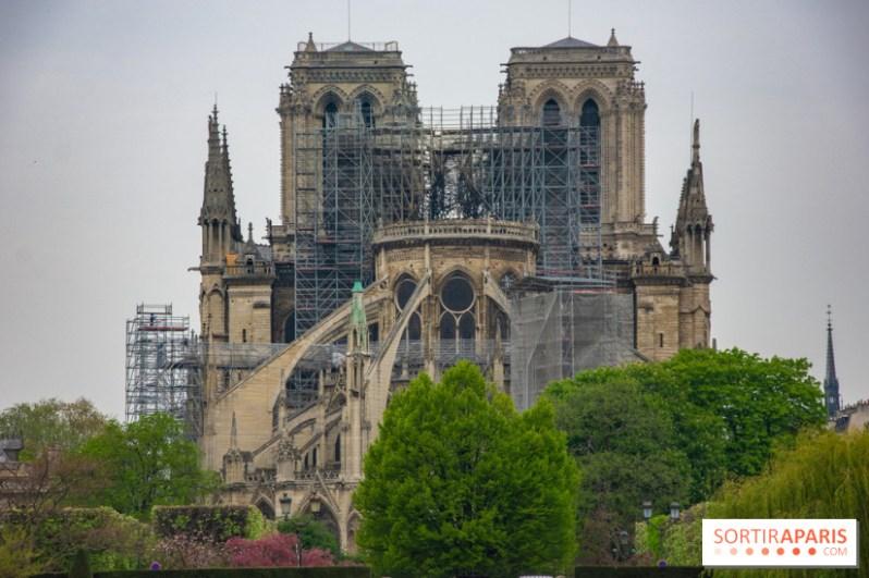 Notre Dame de Paris, les photos des dégâts