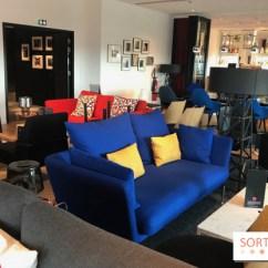 The Living Room With Sky Bar Steakhouse Closed Cloudm Skybar Of Citizenm Paris Gare De Lyon Sortiraparis Com Le Devoile Son