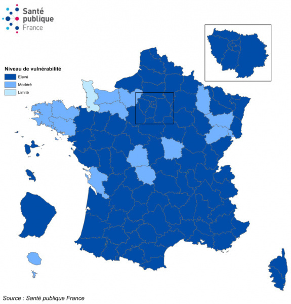 Map of France Covid on October 15: Île de France and 8 metropolises in a state of health emergency