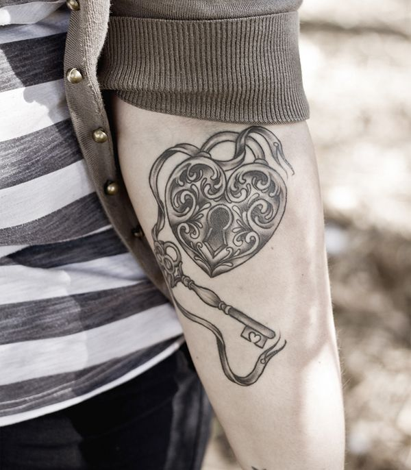 Open Locket Tattoo Designs