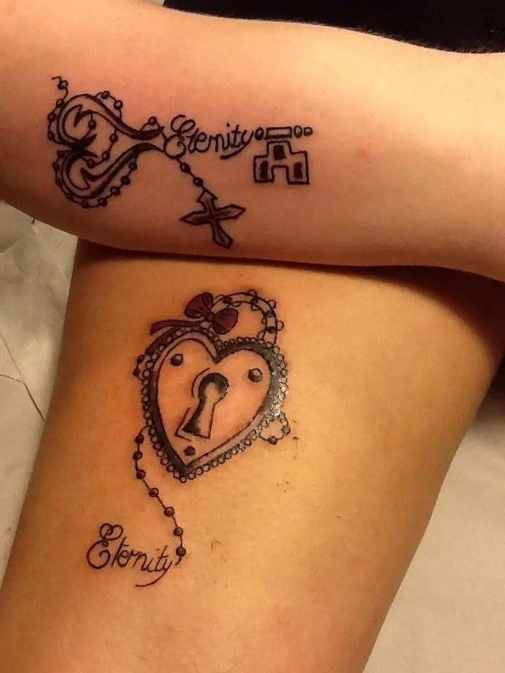 61 Impressive Lock And Key Tattoos