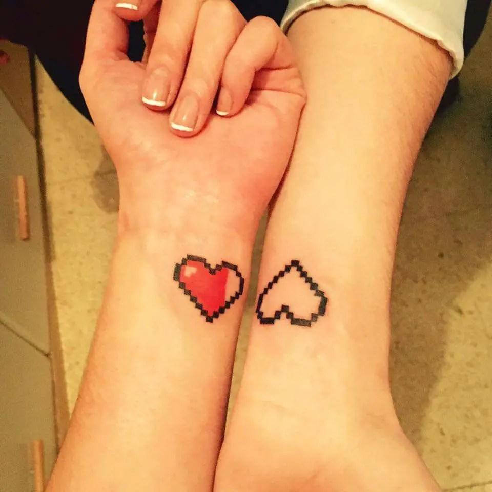 21 lovely heart tattoos