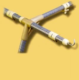 armature fibre de verre pour les auvents trigano touquet et sicile 2m70