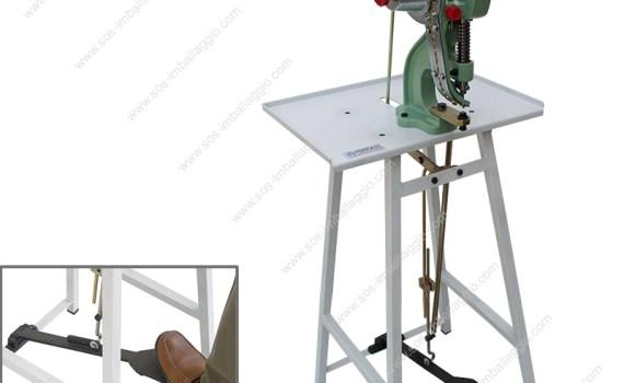 1 head mechanical eyeletting machine