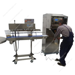 dosing and sealing line