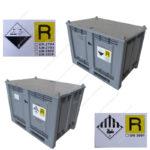 Cassoni per batterie omologati ADR