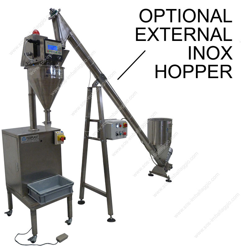 dosers with external hopper