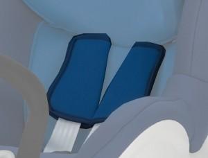 Coussinets Dualfix ocean blue