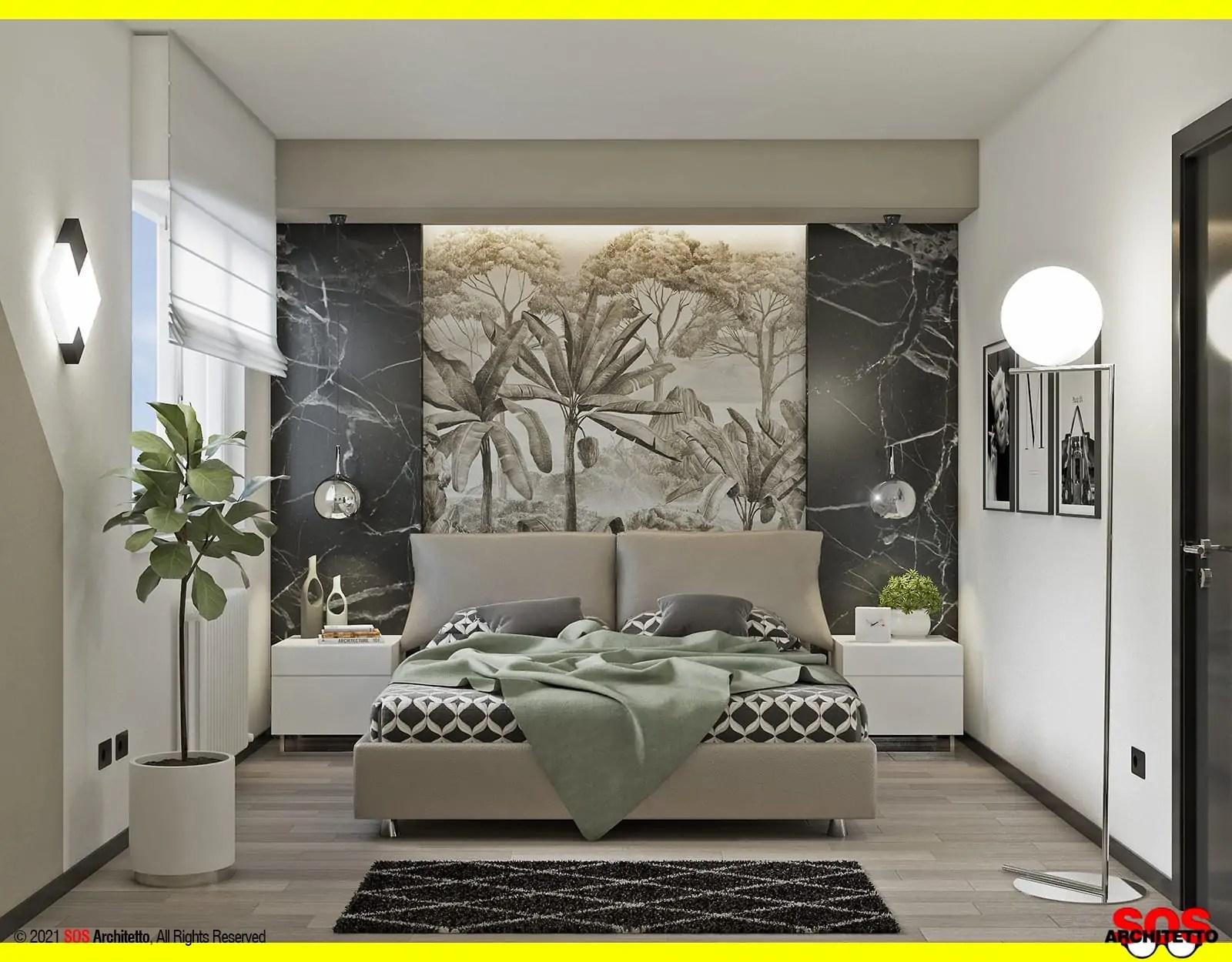 Avete già qualche idea per colorare la vostra camera da letto con un colore adatto alle vostre. Decorare La Parete Dietro Il Letto Sos Architetto