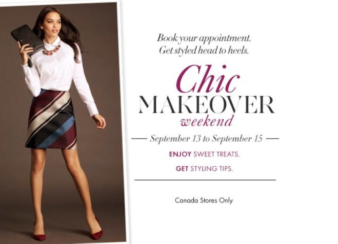 Chic Makeover Weekend_Invite