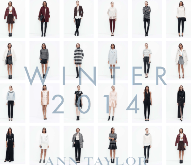 Ann Taylor Winter Holiday Collection 2014