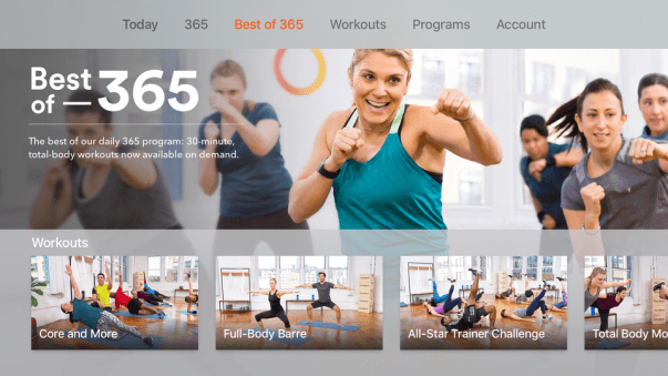 Apple TV Fitness Apps