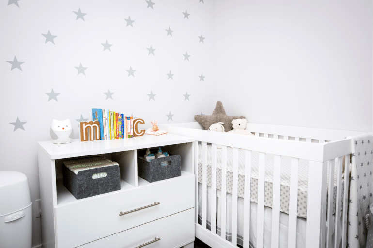 Small Space Nursery Design