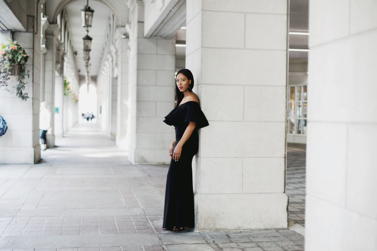 5 Long Black Dresses That Won't Break The Bank - So Sasha