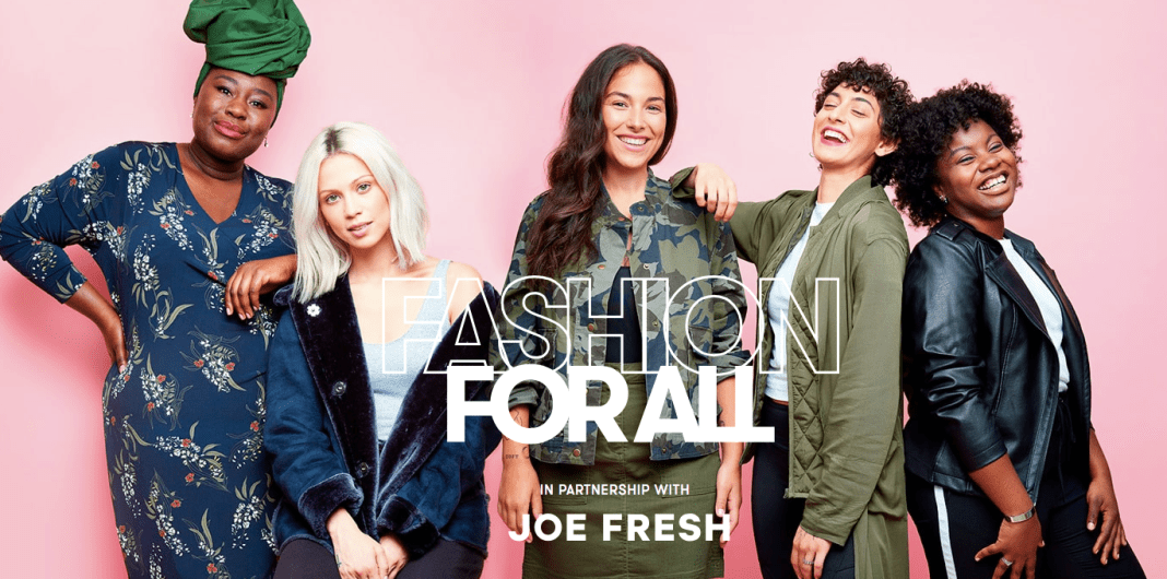 Fashion For All - Joe Fresh + Flare Mag + Sasha Exeter