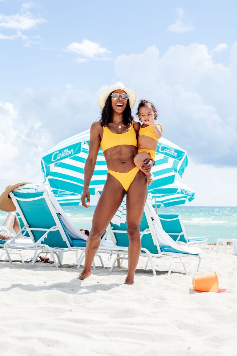 Mommy + Me Matching Swimwear
