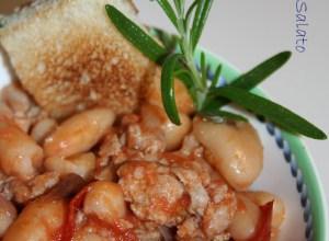 Zuppetta di Fagioli e Salsiccia