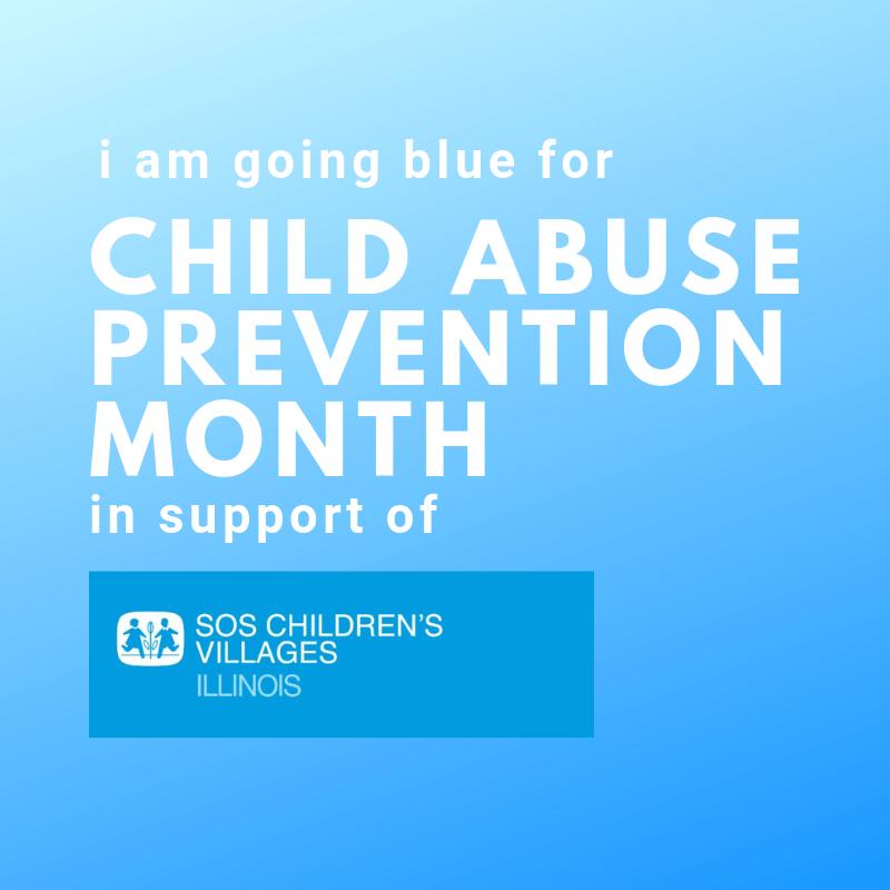 Blue for SOS Illinois Child Abuse Prevention Profile Pic