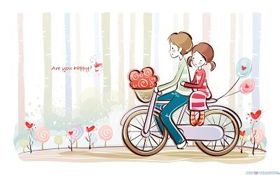 cute-valentine-love-couple-cartoon-40848892