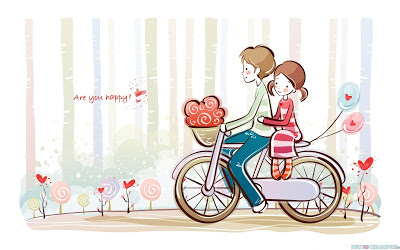 cute-valentine-love-couple-cartoon-40848892