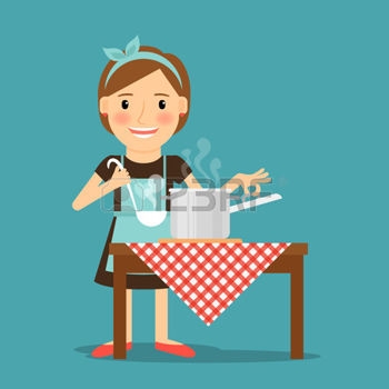 49964140-mother-cooking-woman-cooking-in-kitchen-housewife-family-lifestyle-vector-illustration
