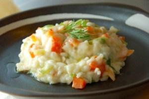 risoto de brie e legumes jpg