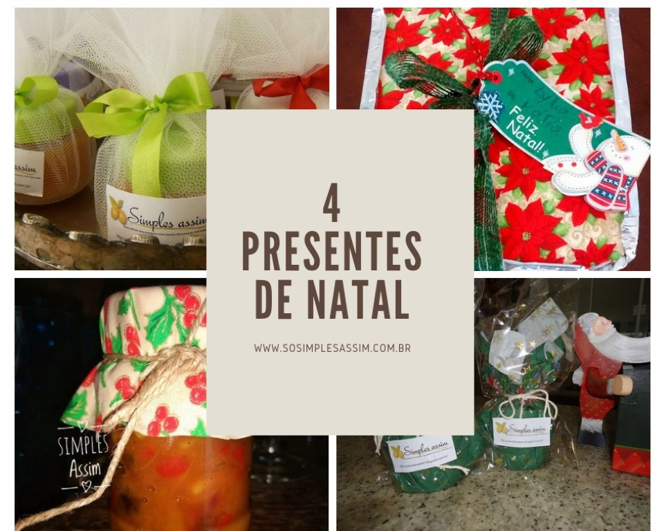 Sugestões para 4 presentes de Natal