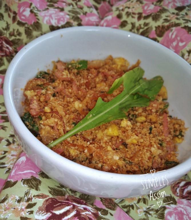 Essa farofa nutritiva de aveia é saudável e muito gostosa