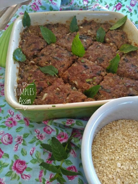 essa versão de kibe de quinoa é mais saudável sem perder o sabor