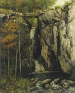 Gour de Conche - Courbet