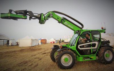Nuevo kit hidráulico para vibradores de olivos de Merlo