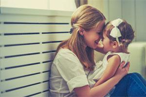caring mum