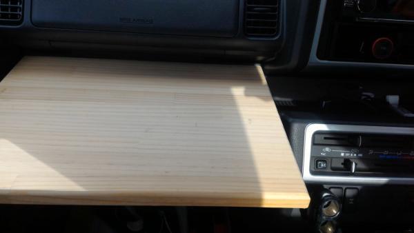 ハイゼットトラック S510P 助手席テーブル