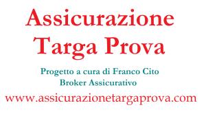 Assicurazione Targa Prova