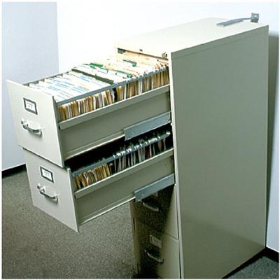 File Cabinet Strap  Black
