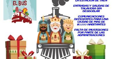 REYES-MAGOS-TALAVERA-SOS-SOSTALAVERA-COMARCA-INFRAESTRUCTURAS-TREN-DESDOBLAMIENTO-ELECTRIFICACION-PUENTE-ALBERCHE-AUTOBUS-E2-TAQUILLAS