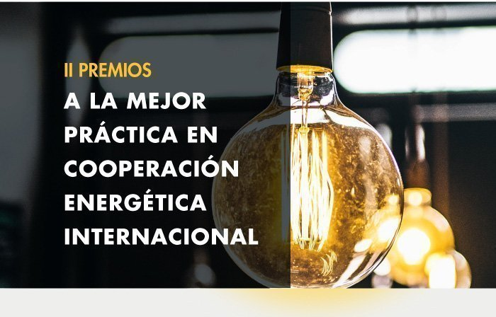 PREMIOS A LA MEJOR PRÁCTICA EN COOPERACIÓN ENERGÉTICA INTERNACIONAL
