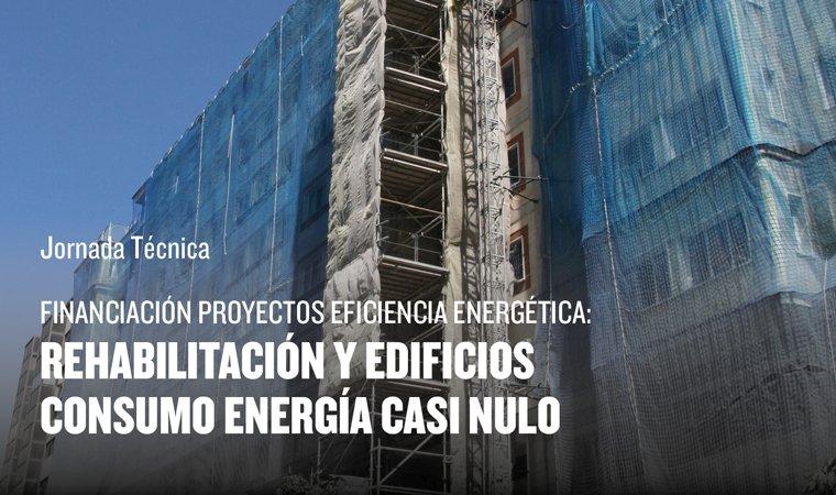 Jornada técnica sobre cómo financiar a través del Banco Europeo de Inversiones (BEI) tus Proyectos de Eficiencia Energética en la Edificación, Rehabilitación y nuevos Edificios de Consumo de Energía casi Nulo.