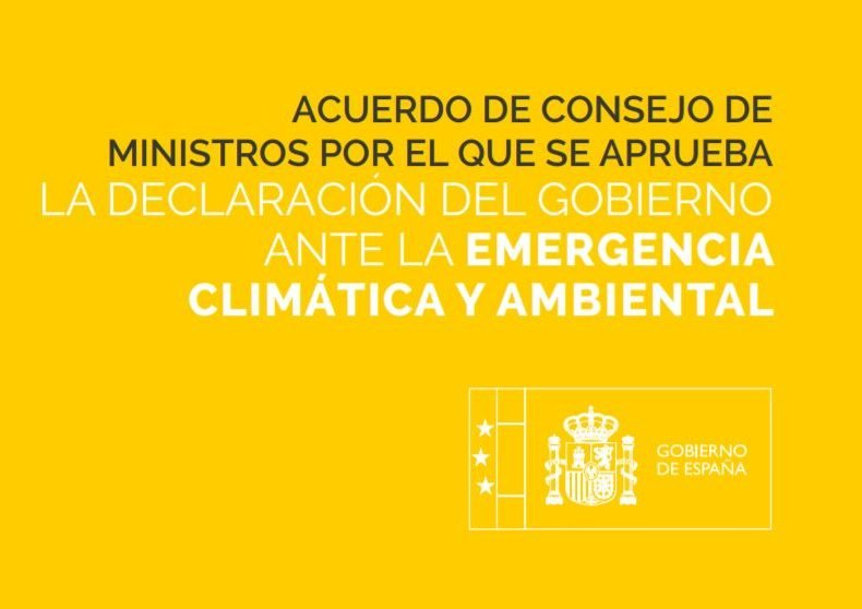 Declaración del Gobierno ante la Emergencia Climática y Ambiental